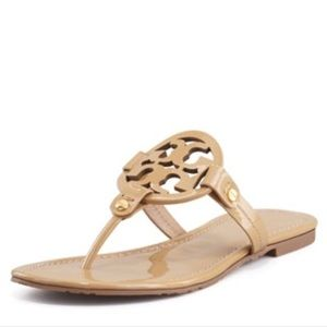 Tory Burch nude sandals !